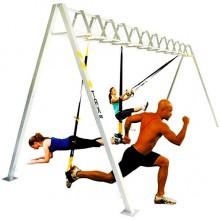 Петли подвесные тренировочные  TRX, резина для подтягиваний